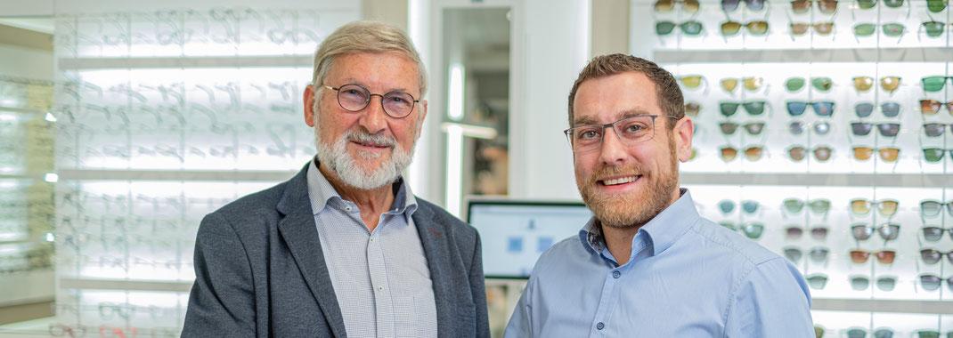 Zwei Generationen für ihr Wohlbefinden: v.l. Günter Petrak (Gründer) und Florian Jauchmann (Inhaber)