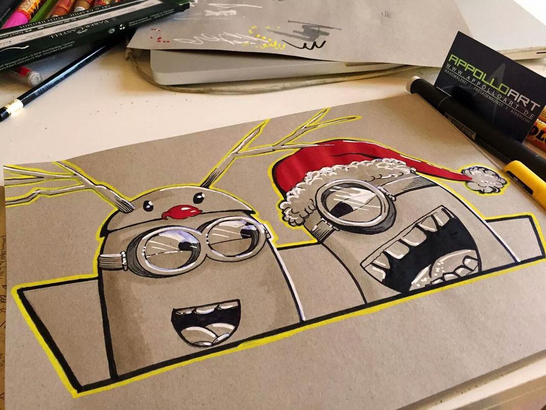 Weihnachten GRAFFITI