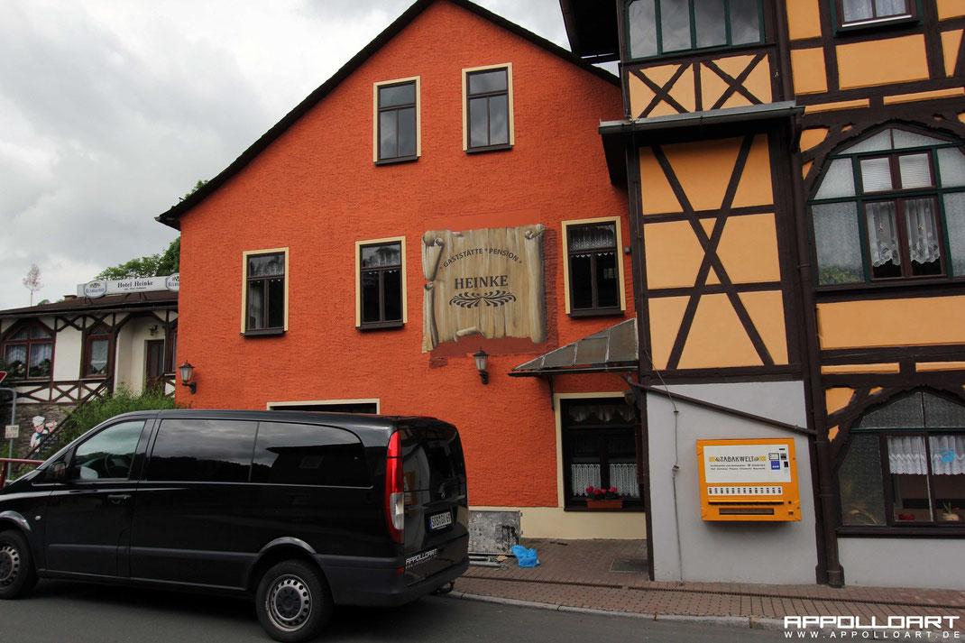 Thüringen Wandmalerei und Kunst aus der sprühdose efx art stromstation