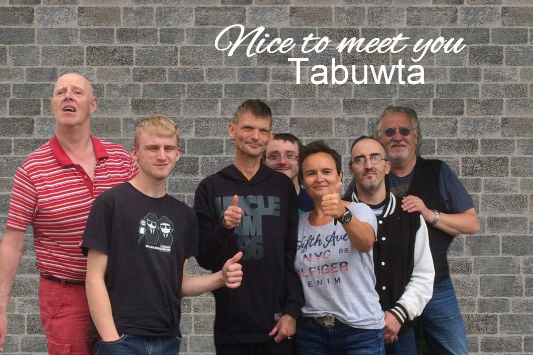 """Die bekannte Band der Lebenshilfe Nordhorn """"Tabuwta"""" stellt sich unseren Fragen."""