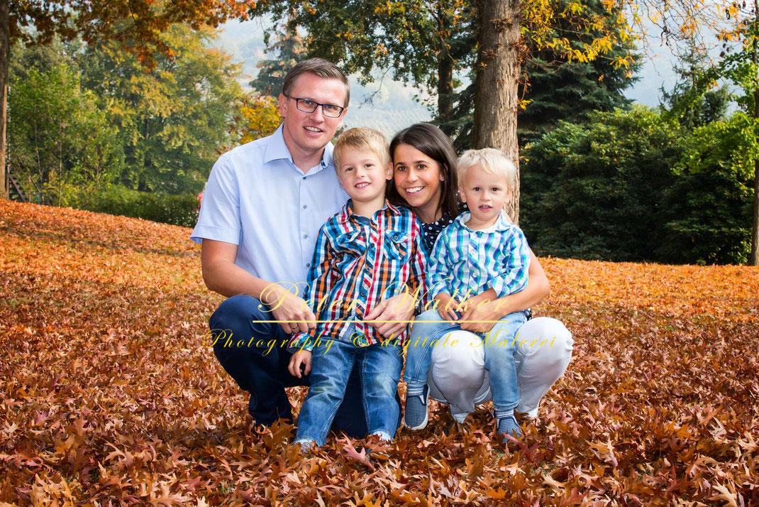 Peter Walker Familie