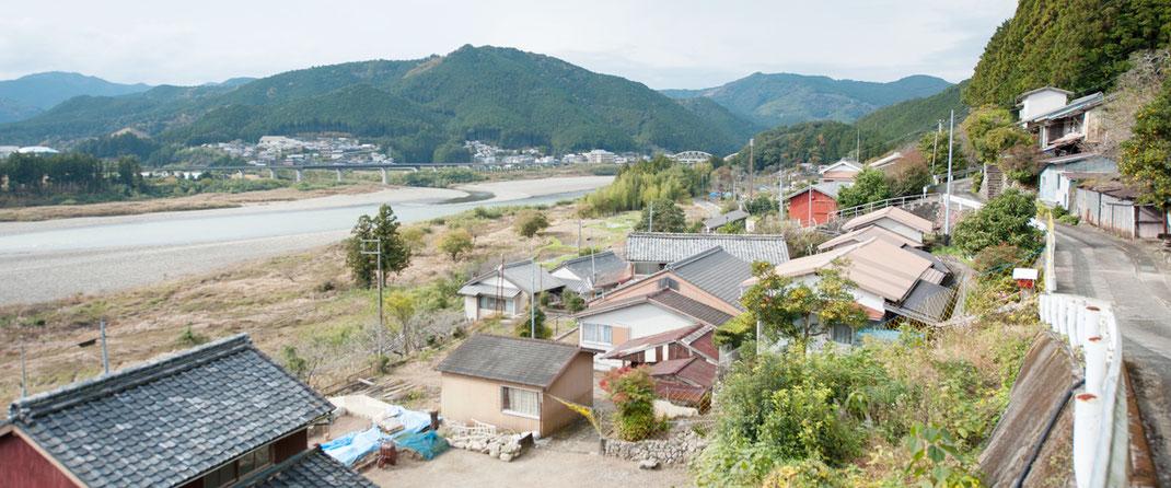 熊野市紀和町上川地区の写真