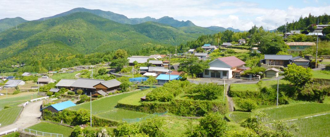 熊野市紀和町入鹿、西山地区の写真