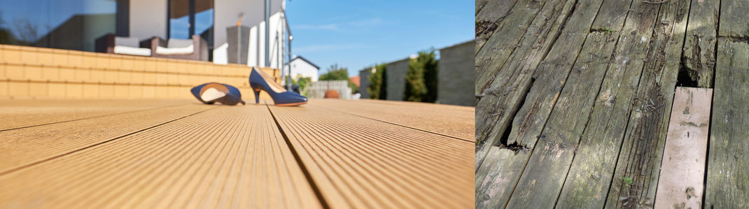 Terrassenböden aussen - WPC Holzimitate Primewood