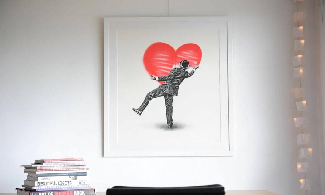 Nick Walker(ニックウォーカー)Love Vandalの額装画像