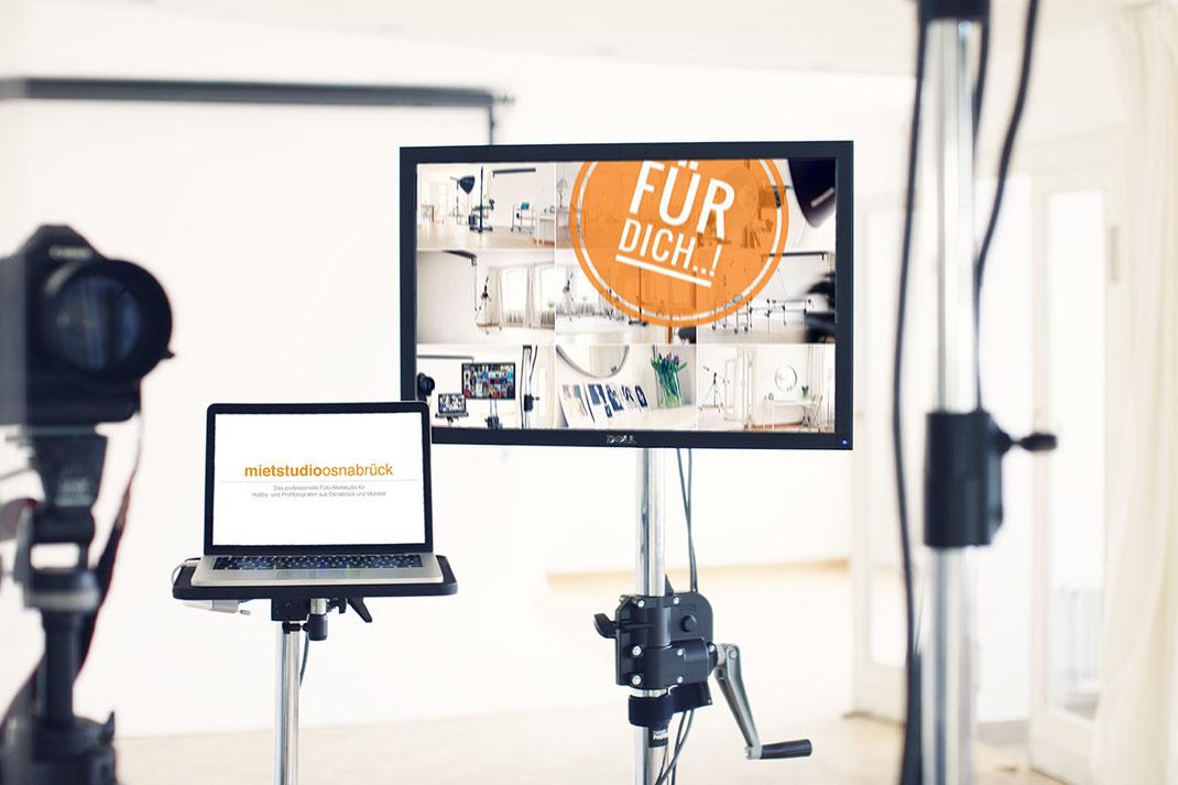 Verschenke als kreative Geschenkidee einen Gutschein für unsere Fotokurse und Workshops im Mietstudio Osnabrück