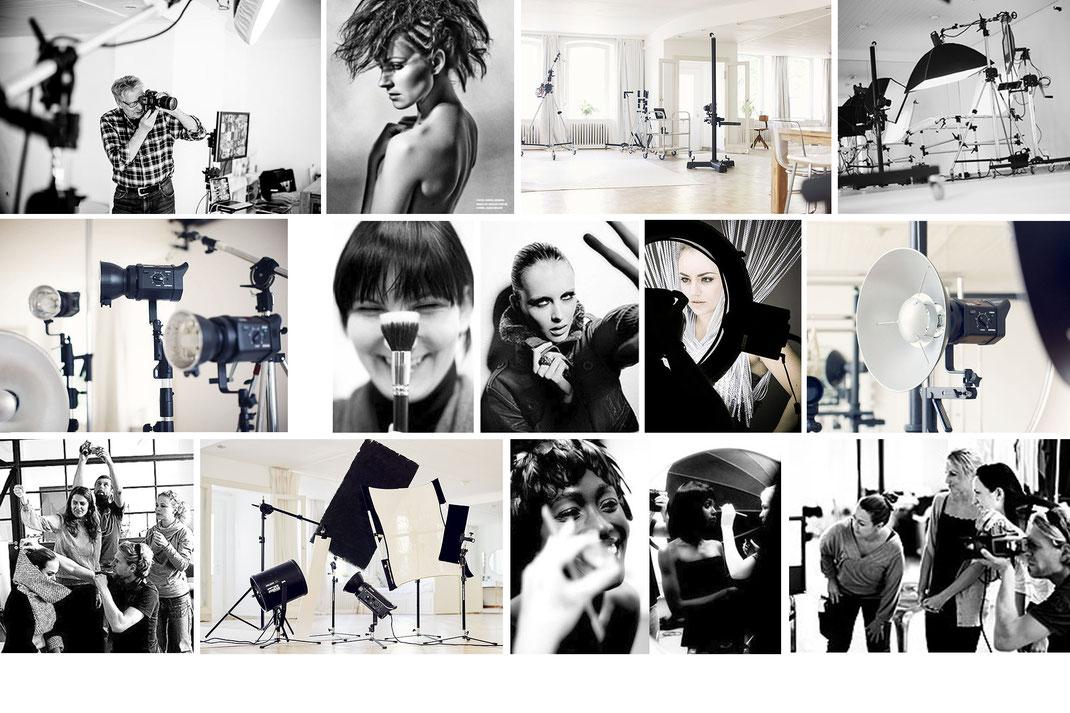 Foto-Workshops, Seminare und Einzelcoachings Rund um die Fotografie und Film im Mietstudio Osnabrück
