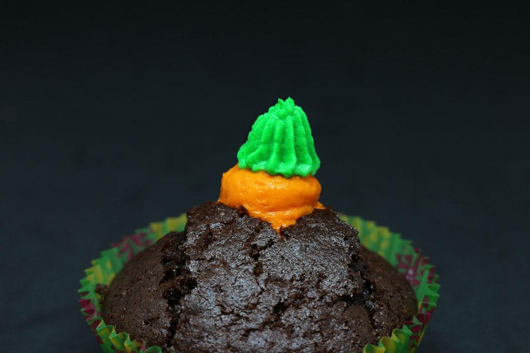 Möhren-Cupcake