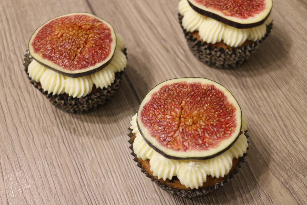 Feigen Cupcakes