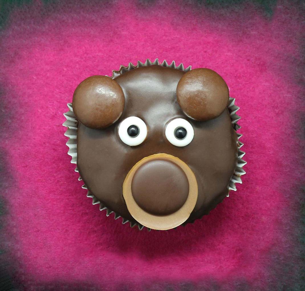 Bären Cupcakes