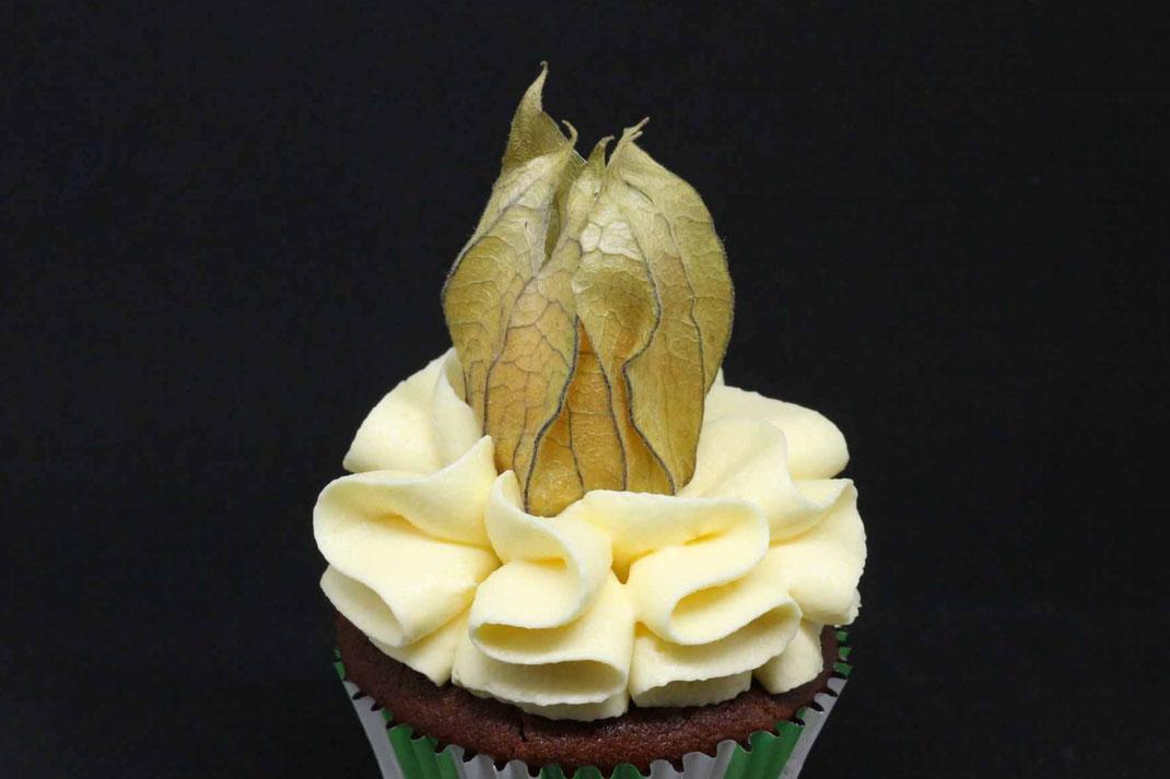 physalis cupcakes
