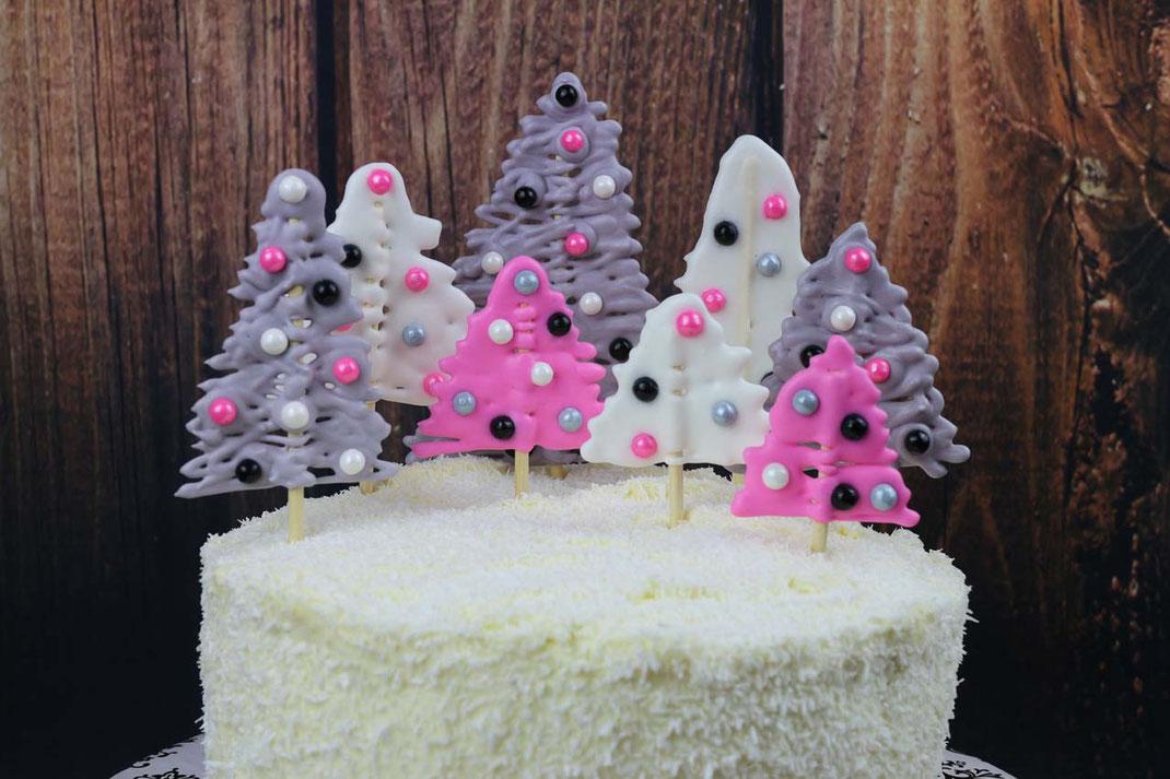 Winter-Wald-Torte