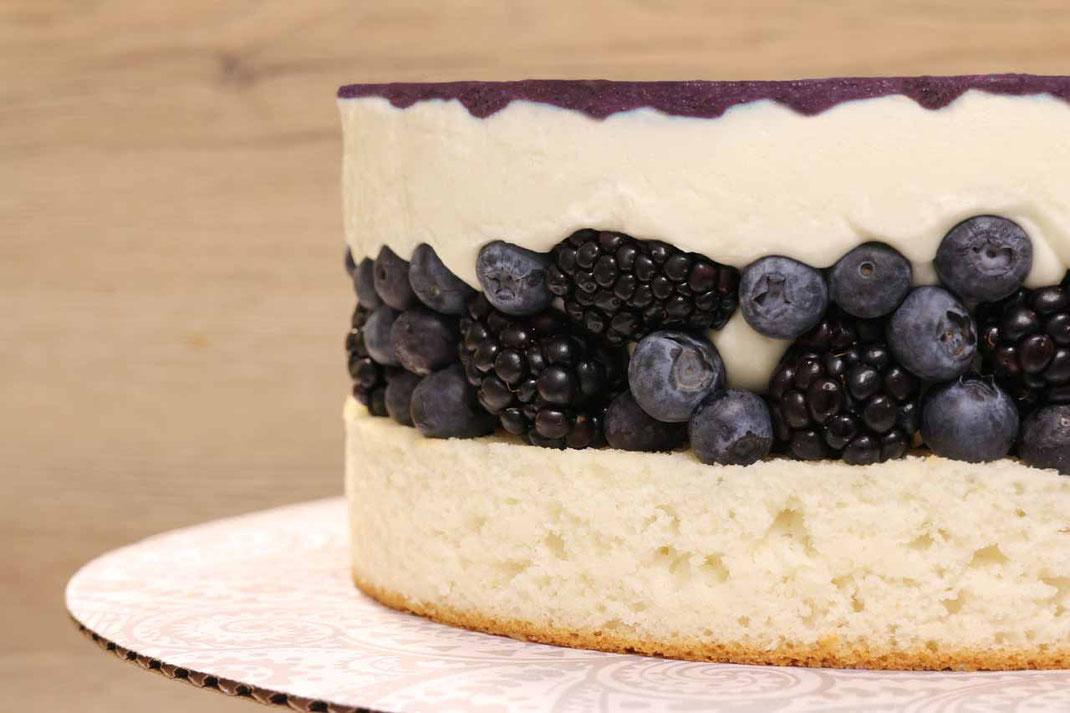 Waldbeer-Cheesecake
