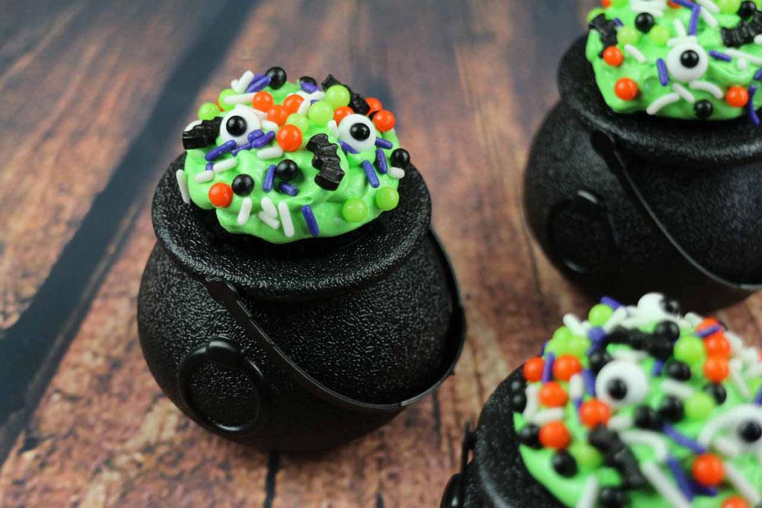 Hexenkessel-Cupcakes