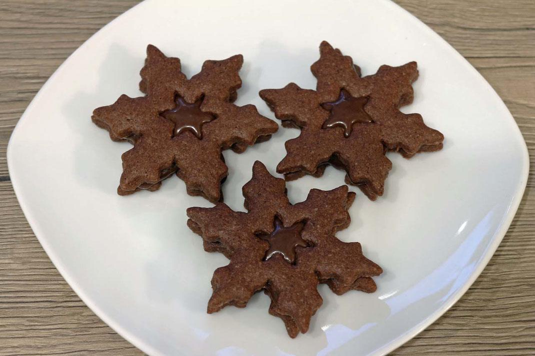 Schoko-Sterne