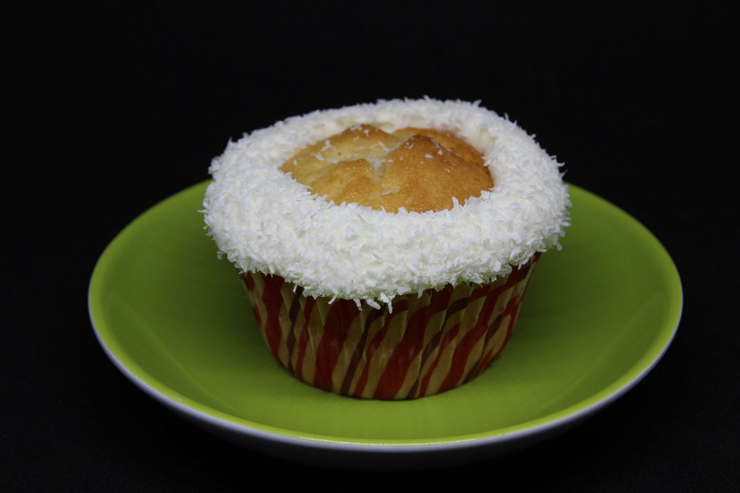 Mützenrand für Santa Cupcakes