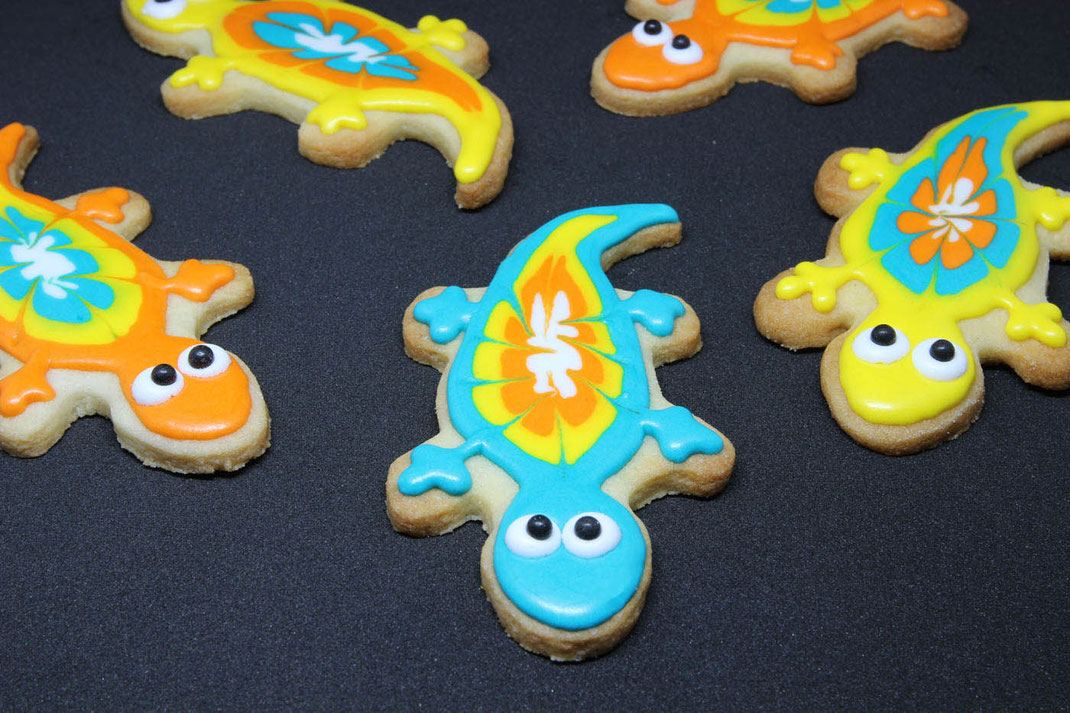 Rudel Salamander Kekse