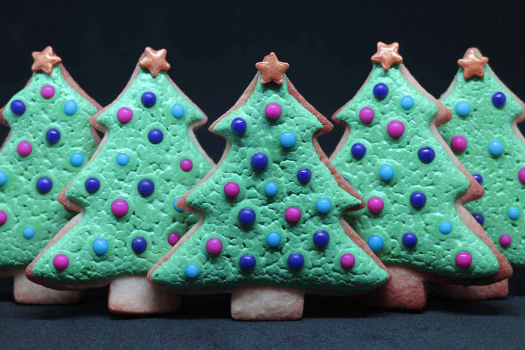 Weihnachtsbaum Plätzchen