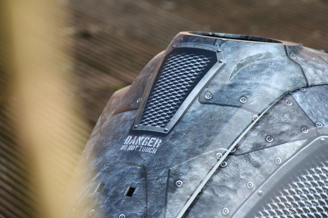 Aviator Iron Dekorpaket für BMW R1250 GS - optional mit Lüftungsgitter