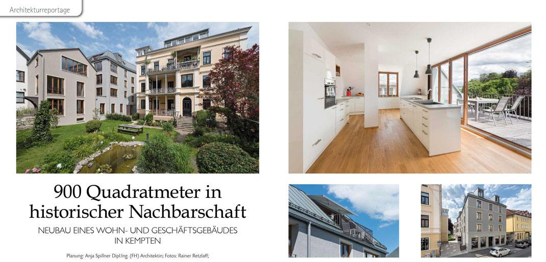 Auszug aus BWV-Journal – Architekturjournal – bauen · wohnen · verschönern