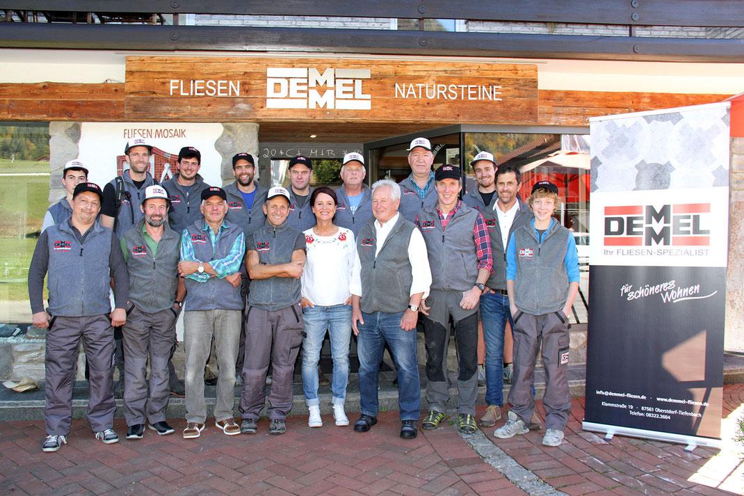 Mitarbeiter Fliesen Demmel in Tiefenbach, Oberstdorf im Allgäu – Fliesen für schöneres Wohnen