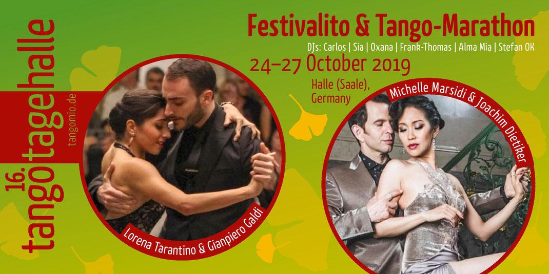 Lorena, Tarantino & Gianpiero Galdi, Michelle Marsidi & Joachim Dietiker, 16. TangoTageHalle 2019, Tango-Festival, Halle (Saale), Germany
