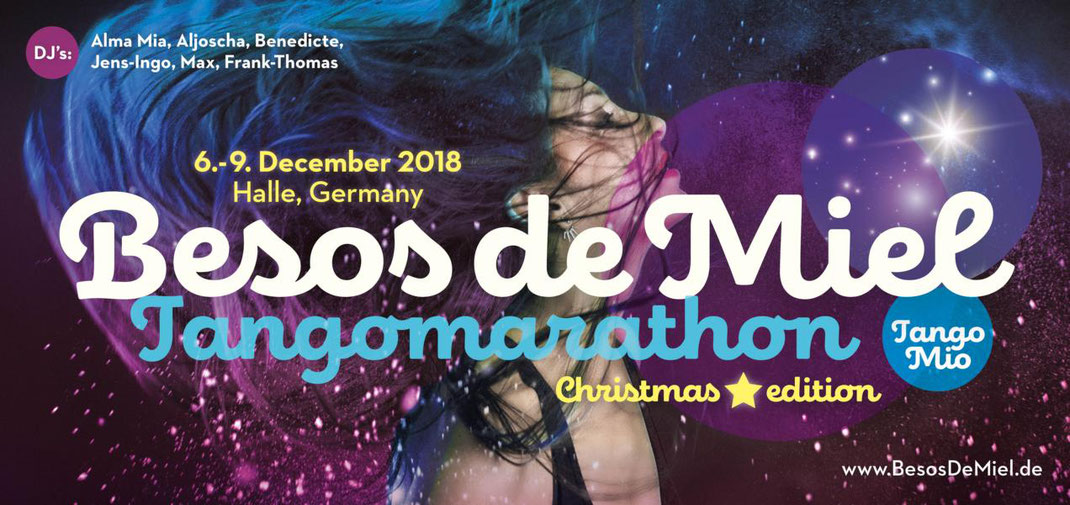 Besos de Miel Tangomarathon 2018 | winter edition | december 6-9 | halle [germany]