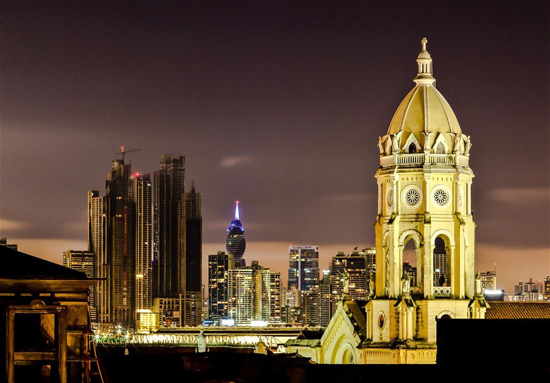 Panamacity, Panama Reise buchen, Skyline Panamacity