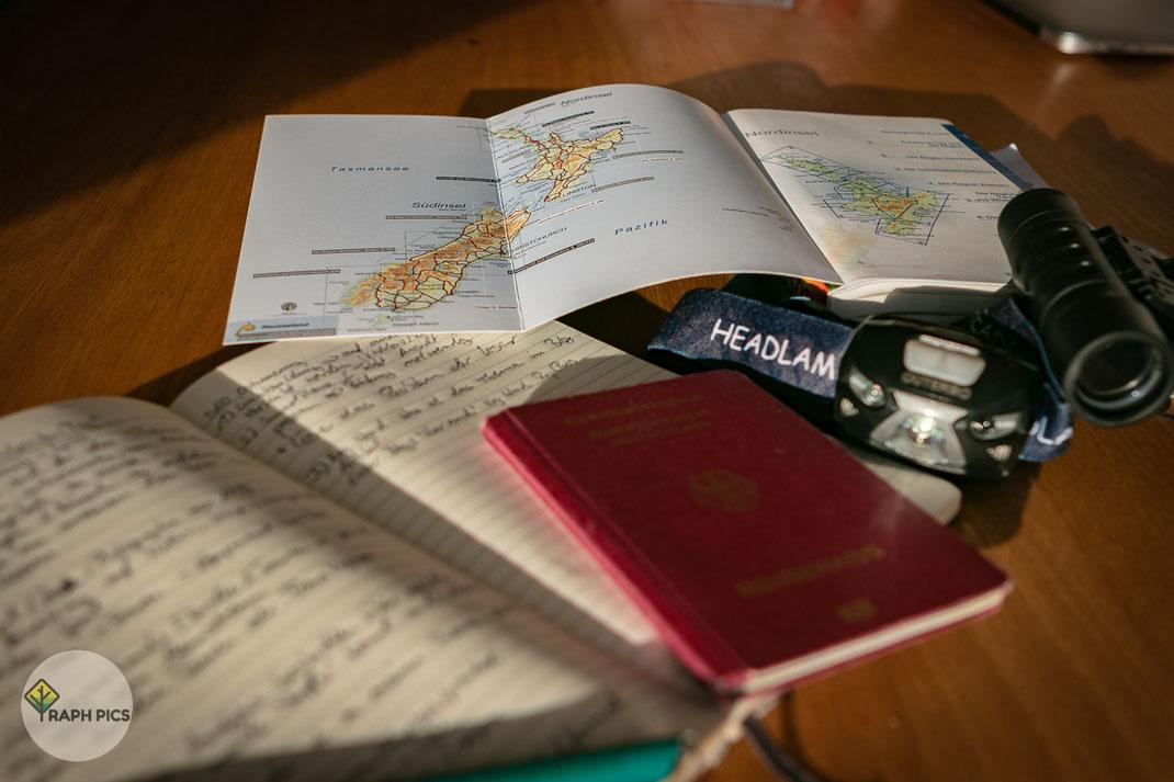 Neuseeland Planung
