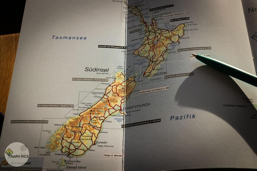 Perfekte Neuseeland Planung