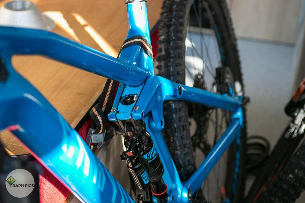 Neuseeland Bikes befestigen