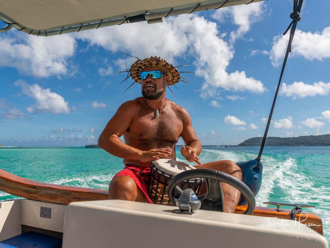Mit dem Reiseleiter Thorsten Hansen auf Bora Bora - Pure Schönheit erleben auf einer Bootsfahrt in der Lagune von Bora Bora - Spaziergang durch Vaitape - Barbecue auf einem Motu - einer Privatinsel
