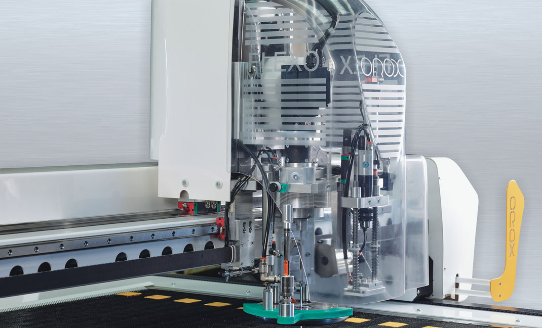 OROX Italy | Flexo Tailor macchina da taglio - immagine della testa