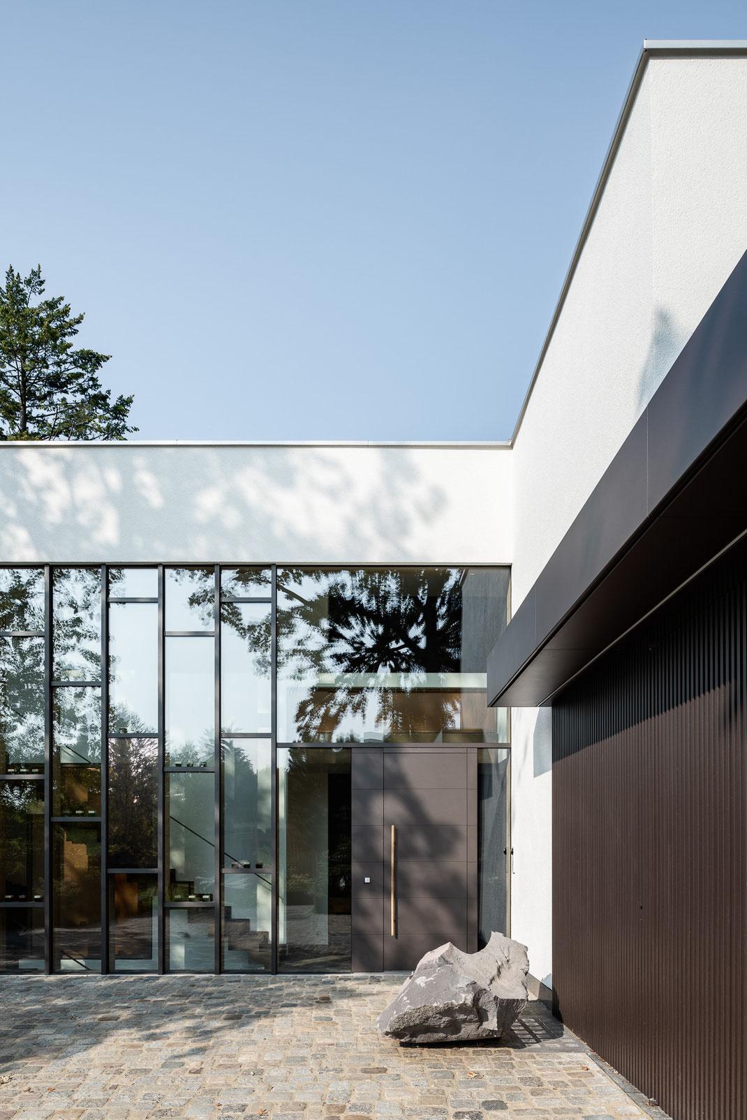 Architektenhaus, Eingang, Architektur von Stephan Maria Lang
