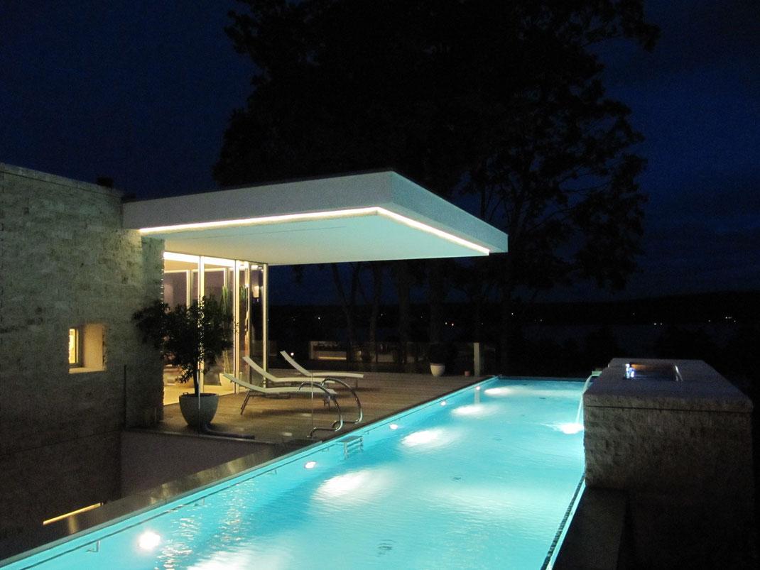 Moderne Villa, Garten, Architektur von Stephan Maria Lang