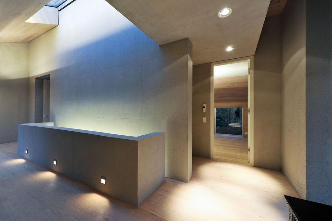 Architektenhaus, Flur, Architektur von Stephan Maria Lang