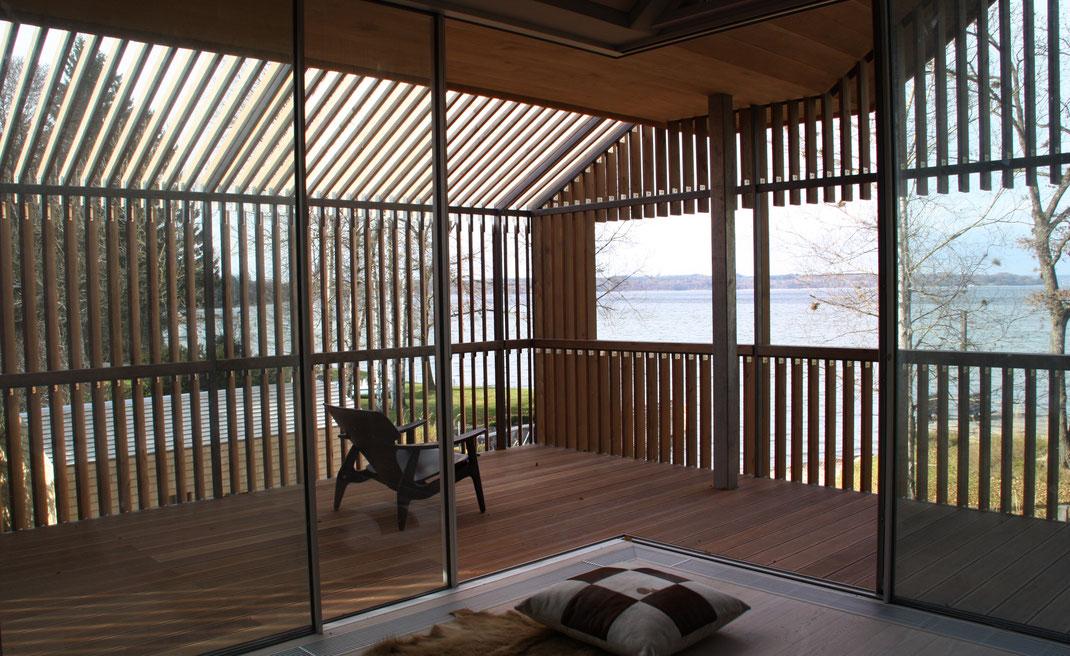 Architektenhaus, Detail Balkon, Architektur von Stephan Maria Lang