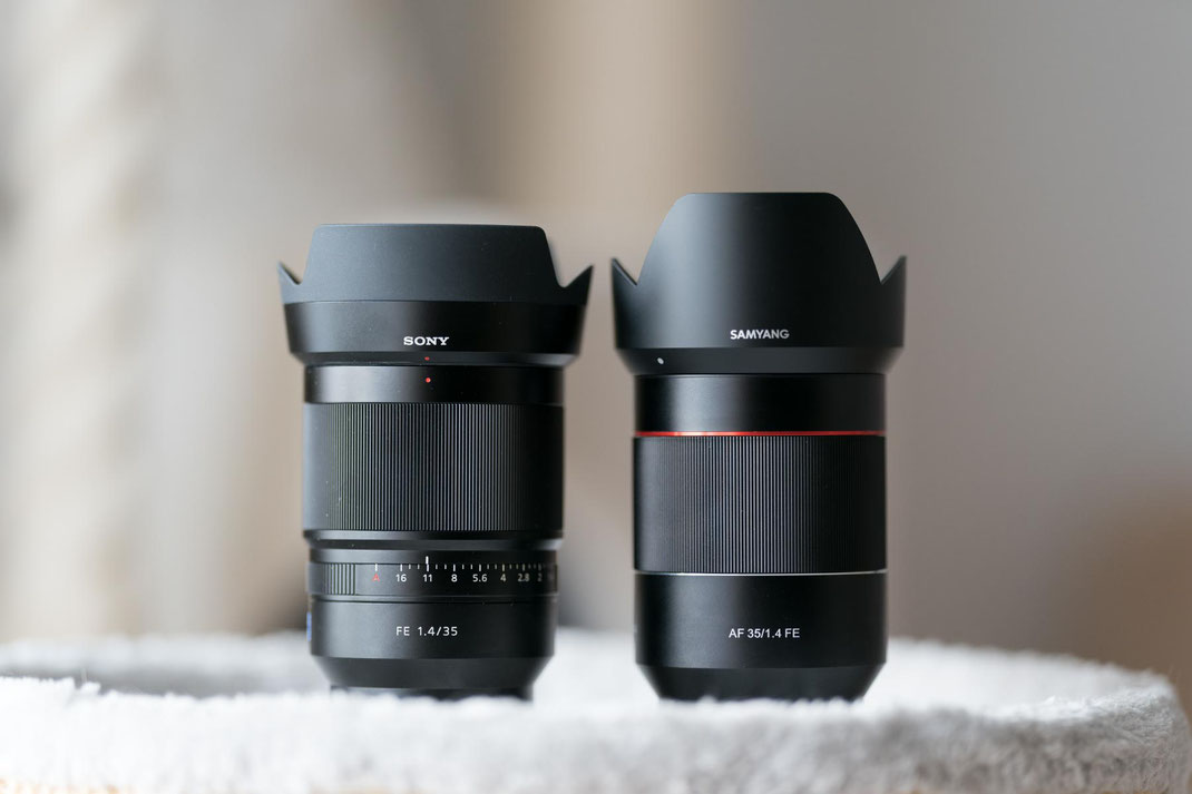 Samyang AF 35mm f/1.4 FE vs. Sony Zeiss FE 35mm f/1.4 Distagon