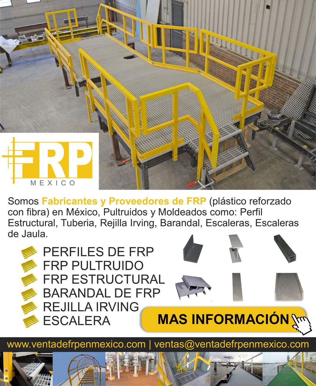 En Donde Comprar FRP Polimericos Reforzados con Fibras en México