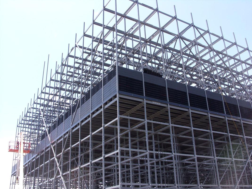 Ventajas del FRP polímeros reforzados por fibras para la construcción