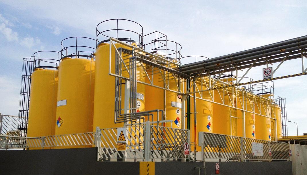 FRP Solución a lo problemas de corrosión para la industria Energética