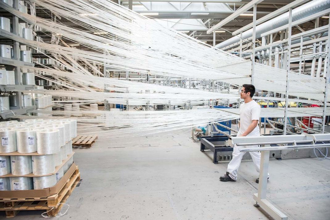 Proceso de Pultrusión de los plásticos reforzados por fibras