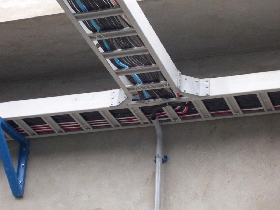 Escalerillas portacables de FRP