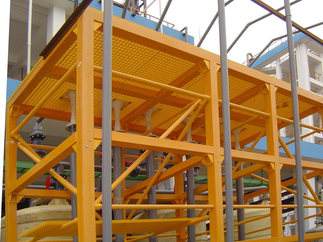 FRP Plásticos reforzados para la industria de la construcción