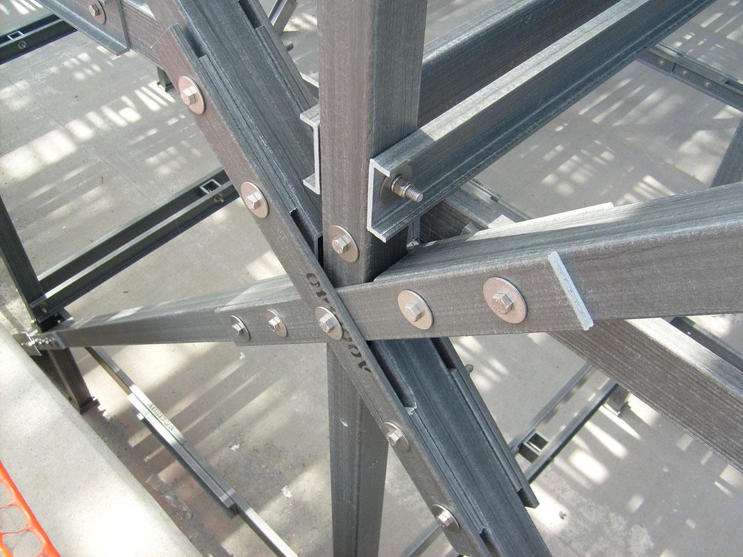 Uso de los plásticos reforzados con fibra de vidrio en la construcción