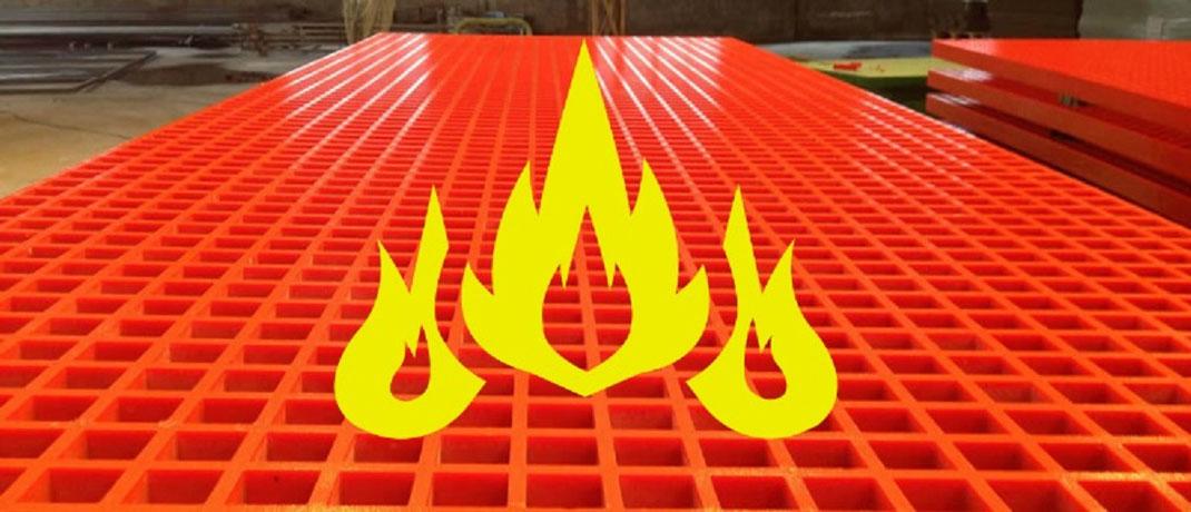 Características de la Fibra de Vidrio con retardante de fuego