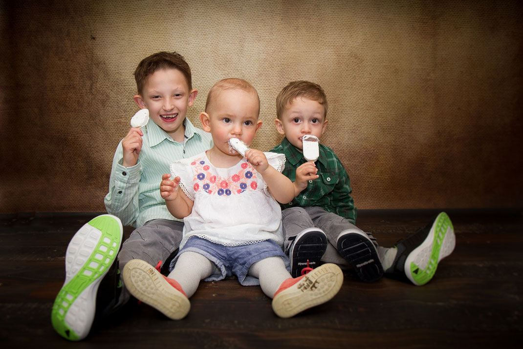 Kindershooting, Eis am Stiel, Familienshooting Erding