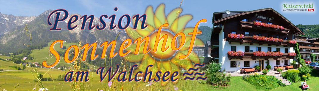 B&B Sonnenhof Walchsee, Tyrol, accomodation in the alps, holiday apartments