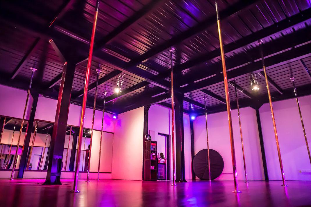 salle danse pole dance tahiti pole art