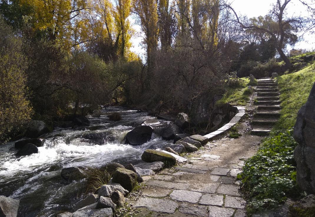Senda de los Molinos en Segovia